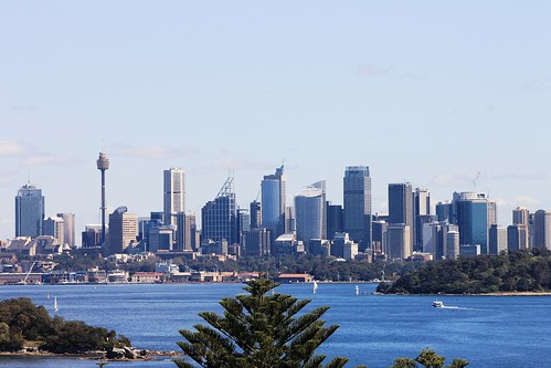 Sydney Harbour and City from South Head