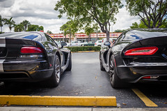 IMG_3571 (Haifax.Car.Spotter) Tags: cars car sport race racecar florida miami pair fl generations viper supercar sportscar superscars