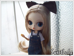 Hello, little girl! (SweetLuly) Tags: dolls blonde groove ribbon rement pennylane hermine innocentworld byul byulhermine