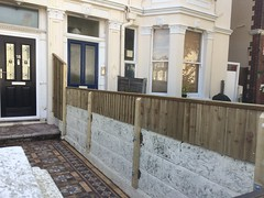 Fencing work in Hove