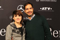 Angy en la fiesta de presentacion del GLC en Salamanca