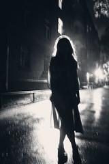 (fancy flight) Tags: light shadow girl night dark fancyflight