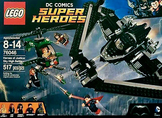 76046 Heroes of Justice : Sky High Battle