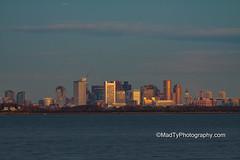 First Light over Boston (B.MacLean) Tags: boston canon bostonma bostonist bostonharbor canoneos50d canon50d canonef70200mmf4lisusm