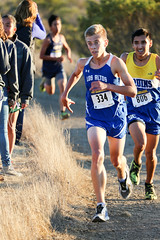 Rodrigo finishing (Malcolm Slaney) Tags: championship crosscountry xc crystalsprings 2015 scval