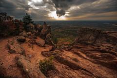 The Pinnacle (dorameulman) Tags: autumn color fall landscape outdoor hike cherokee moutains atmospheric thepinnacle crowdersmountainstatepark dorameulman