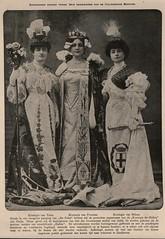 De Prins 1906 Italiaanse schoonheidskoninginnen (janwillemsen) Tags: beautyqueens magazineillustrationdeprins19051906