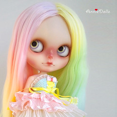 Anniedollz no.47 cutom Blythe. more pics will coming soon...
