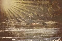 """River Run"" (DigitalDoug - 攝影) Tags: canon usm ef 70200mm f4l rivercanon eos40d kayakpotomac nikcolorefexpro4 topaztextures"