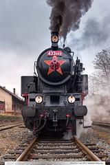 433.002 | tra 283 | Valask Mezi (jirka.zapalka) Tags: train czech steam parnilokomotiva stanice valasskeklobouky 433002 trat283 historickevozidlo mikulasvalasskeklobouky2015