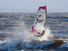 PC310380-Edit (Brian Wadie Photographer) Tags: gulls oystercatcher windsurfing kiting em1 goodlight 14xtc avonbeach canon70300lis hemgistburyhead