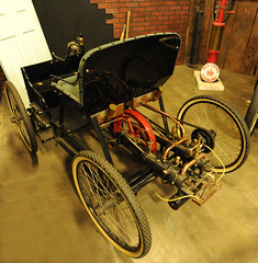 1896 Ford Quadracycle Replica (D70) Tags: california two usa ford water horizontal museum drive belt hp automobile cu with none no 4 engine 64 chain replica cylinder brakes sacramento 500 reverse weight transmission forward speeds lbs in cooled 1896 quadracycle