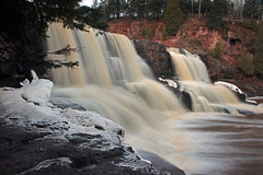 Goosebery Falls (Allen's Photography) Tags: winter minnesota northshore duluth lakesuperior 2015 allensphotography