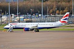 "G-LCYV Embraer 195-100SR BA Cityflyer MAN 20-12-15 (PlanecrazyUK) Tags: man manchester ringway egcc airport"" bacityflyer ""manchester embraer195100sr 201215 glcyv"