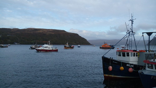 Portree, Île de Skye, Écosse