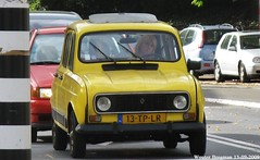 """Renault 4 GTL """"Sixties"""" 1985 (XBXG) Tags: auto old france holland classic haarlem netherlands car vintage french automobile 4 nederland voiture renault frankrijk 1985 paysbas sixties r4 ancienne renault4 franaise gtl 13tplr"""