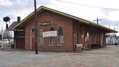 Orrville, Ohio (3 of 5) (Bob McGilvray Jr.) Tags: railroad ohio station train tracks depot oh passenger cac orrville pftwc clevelandakroncolumbus pittsburghftwaynechicago