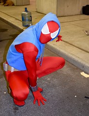 DSC_0254 (1) (Randsom) Tags: nycc 2016 newyorkcomiccon nycomiccon javitscenter october nyc newyorkcity cosplay costume fun comicbooks comicconvention marvelcomics spidermanfamily spiderverse spiderman halloween scarlet spider spandex hood colorful red blue