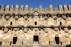 Aspendos_11 (Romeodesign) Tags: turkey trkei aspendos ruin theater antalya 550d mediterranean coast turkish riviera trkiye peninsula pamphylian ruins historic ancient roman amphitheatre theatre antique culture cultural monument romans architecture holiday urlaub