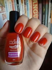 Provocante - Colorama (Mari Hotz) Tags: laranja esmalte unha colorama