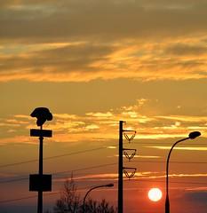 sunset 1 (joanna_l95) Tags: sunset sun cracow krakow sky
