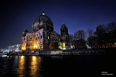 Berlin Cathedral at night. Berlin (Abariltur) Tags: abariltur castelln spain nikond90 afsdxnikkor1024mmf3545ged berlin spreeriver berlincathedral berlinerdom evangelicalsupremeparishandcollegiatechurchinberlin museumislandinthemitteborough jamessimonpark lustgarten germany