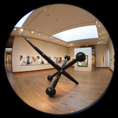 Jack (K.G.Hawes) Tags: chazenmuseumofart art fisheye museum vignette vignetted circle circular orb distortion distorted sculpture jack jacks toy giant madison wisconsin