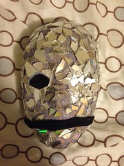 Seven Deadly Sins: Pride (Gemini Designs) Tags: silver grey scars crack glass reflective pride sevendeadlysins art mask