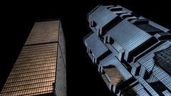 Hong Kong 22 (kruser1947 (all killer no filler)) Tags: architecture abstract hongkong skyscraper
