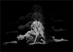 ballerina 0001b (Phil Newell) Tags: dancer ballerina angel broken blackwhite bw dance lady female relection