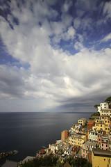 Riomaggiore - Cinque Terre (-Dam-) Tags: nd400 1022mm landscape italy cinqueterre longexposure