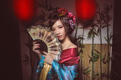 花魁-APPLE (Chris Photography(王權)(FB:王權)) Tags: 5 5d 5dmark4 5d4 花魁 applejen 和服 和服寫真 2470lii 高雄 王權 正妹 taiwangirl girl