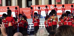 The Coldstream Guards (Suede Bicycle) Tags: olympics rio rioolympics rio2016 olympicgames heroeswelcome trafalgarsquare summerolympics olympicparade paralympics rioparalympics