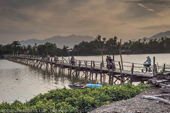 Somewhere around Nha Trang (Vit Nam) (Jason WastePhotography) Tags: vietnam asia sky landscape bridge wood river bike travel nhatrang moto ride free