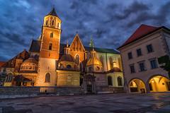 Wawel Castle Project - XIV (lncgriffin) Tags: krakow cracow poland polska europe europa wawelcastle architecture castle wawelcastleproject royal historic longexposure nightphotography travel nikon d750 zeiss distagon distagon2128zf