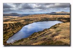 crazywell pool (jeremy willcocks) Tags: crazywellpool dartmoor devon uk moor water tors people sky clouds colour jeremywillcocks wwwsouthwestscenesmeuk fujixt1 xf1855mm landscape