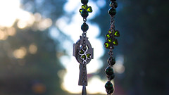 Rosary: Intercessory Prayer (marylea) Tags: relationship hope trust peace reconciliation jesus god catholic faith explored explore rosary prayer commute oct9 stpatrick intercession intercessoryprayer shamrock shamrockrosary stpatrickrosary car