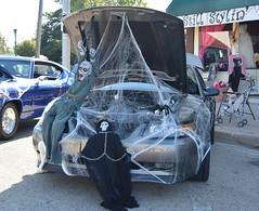 A Halloween Mustang (kendoman26) Tags: halloween mustang fordmustang october2016morriscruisenight morriscruisenight nikon nikond3300 tokinaatx1228prodx tokina tokina1228