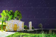 Skiathos Vassilias     (belas62) Tags: startrails greece beach kassandra hotel