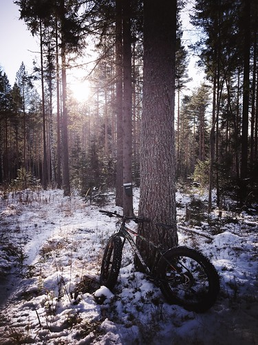 First Snow Fatbiking