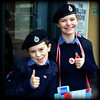 Sea Cadets selling poppies (* RICHARD M (Over 5.5 million views)) Tags: street portraits portraiture streetportraits streetportraiture smiles youngsters royalbritishlegion britishlegion poppies poppysellers fundraisers fundraising remembrance volunteers volunteering therightstuff lestweforget seacadetcorps uniforms berets capbadges pride dedication dedicated bulldogbreed youngbrits england unitedkingdom uk greatbritain gb britain navaluniforms happy happiness thumbsup proud patriotic patriotism veterans beaming cheekychappie youngergeneration wewillrememberthem enthusiasm enthusiastic grin grinning together innocence remembranceday seacadets rolemodels goodcauses