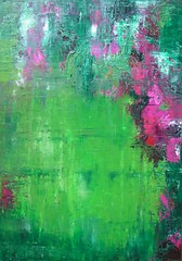 Green Soul (Angela Dierks Paintings) Tags: abstractart abstractpainting oilpainting affordableart floralart