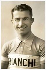 Giuseppe Olmo, Italian Cycling Champion. (Paris-Roubaix) Tags: giuseppi olmo italian national cycling champion vintage racing cyclists bianchi