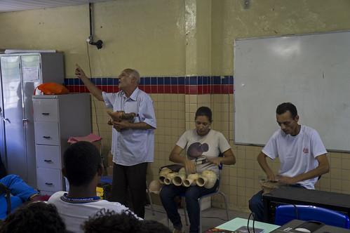 """Encerramento da Oficina """"Os sons que ecoam no Recife e Olinda"""", do Ponto de Cultura Movimento Pró-Criança"""