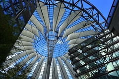 Sony Center Berlin revisited (edwin van buuringen) Tags: sonya7mii hdr dynamicphotohdr reflection ber sony