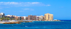 Torrevieja (-ebphoto-) Tags: nikon d3200 1020 mm wide angle summer 2016 spain beach blue sky torrevieja sea water
