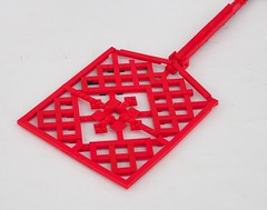 Fly Swatter (W. Navarre) Tags: lego fly swatter red 11 scale