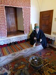 Konya - Mevlana Turbesi, museum, cell reconstruction (damiandude) Tags: rumi dervish sufi