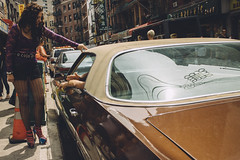 Untitled (reinfected) Tags: street new york old city nyc people ny car vintage buildings person photography photo candid