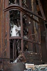 SDHF July 2015 (nikleitz2009) Tags: leica france rust industrial rusty railway trains rails burned abandonned wagons sncf rouille incendie urbex industriel summaron leitz loiret leicam8 sdhf